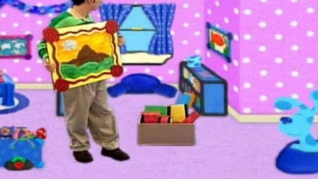 Blues Clues Season 4 Episode 7 - Blue's New Place