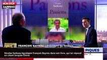 Nicolas Sarkozy égratigne François Bayrou dans son livre, qui lui répond en citant Jacques Chirac (vidéo)