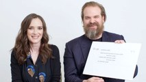 Winona Ryder & David Harbour Answer the Web's Most Searched Questions