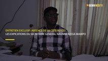 Entretien : les explications du secrétaire général Kassa Mampo sur l'absence de la CSTB au CES