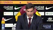 AS Roma present new head coach Paulo Fonseca