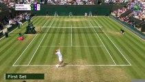 Wimbledon : Goffin avance vers Djokovic