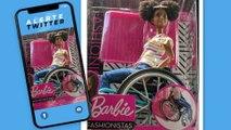 Barbie sort une poupée noire en fauteuil roulant !