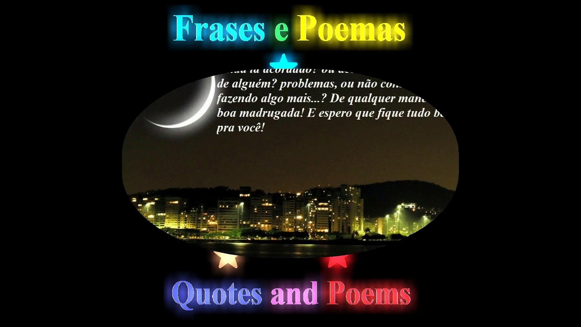 Boa Madrugada Pra Você Ainda Tá Acordado Boa Sorte Mensagem Frases E Poemas