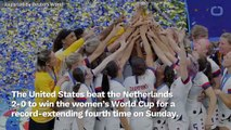 U.S. Triumphs Over Netherlands, Wins Fourth World Cup