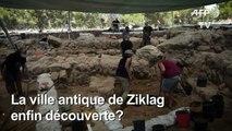 Israël: découverte d'un site d'une ancienne ville philistine