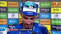 Tour de France : le Français Julian Alaphilippe décroche le maillot jaune