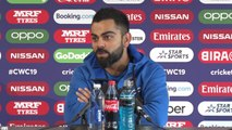 India's Virat Kohli pre New Zealand