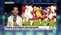 CAN-2019 : La Côte d'Ivoire élimine le Mali (1-0) et rejoint l'Algérie en quarts