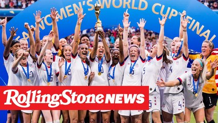 "U.S. Women's Team Wins World Cup, and Fans Chant ""Fuck Trump"" on Fox News 
