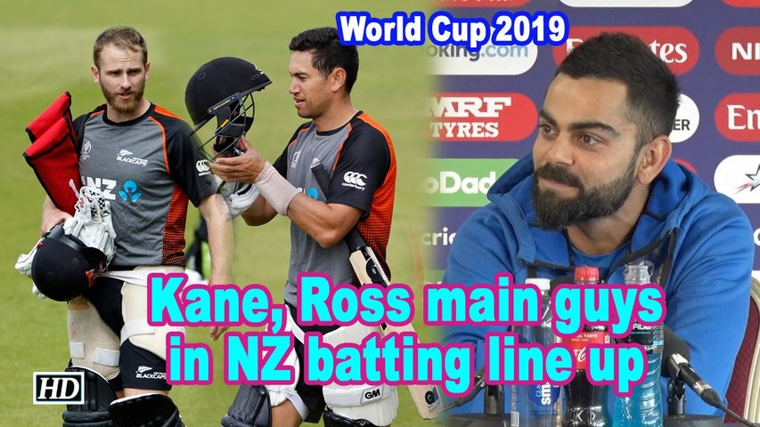 World Cup 2019 | Kane, Ross main guys in NZ batting line up: Kohli