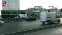 Metrobüs durağında bıçaklı kavga