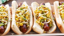 Grilled Street Corn Hot Dogs Will Be The Star Of Your Next Potluck