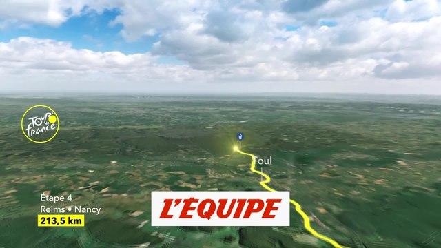 Le profil de la 4e étape - Cyclisme - Tour de France