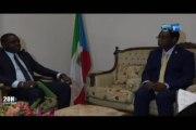 RTG/L'ambassadeur de Guinée Equatoriale au Gabon s'est entretenu avec le président du Réseau des organisations de jeunesse africaine leader des Nations Unies