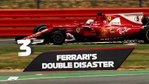Five Shocking Moments From The British Grand Prix
