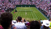 Fourth round action from men's and women's singles at Wimbledon