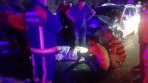 Bursa'da trafik kazası: 1 ölü, 11 yaralı