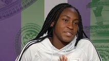 Wimbledon 2019 - Cori Gauff  The phenomenon Coco Gauff struck again