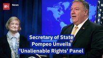 Secretary Of State Pompeo Joins A New Commission