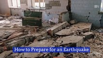 How To Handle An Earthquake