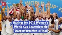 The Women Take Over Soccer TV Ratings