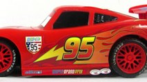 Disney Pixar Cars2 Toys - RC Champion Series Lightning McQueen Toy Review - Toys For Kids