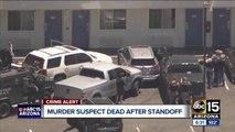 Homicide suspect dies after standoff at Tempe Motel 6