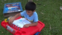 Simba Toys - Spiderman Sit N Play Creative Art Desk Toy Review