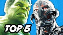 Avengers Age of Ultron - TOP 5 Missing Edits