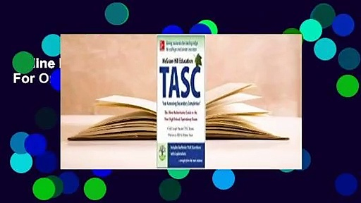 Online McGraw-Hill Education TASC  For Online
