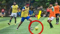 Ranbir Kapoor And Team Playing Football | All Star FC Team | Bollywood News