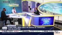 Anthony Morel: A New York, Uber lance un service de transport par hélicoptère - 09/07