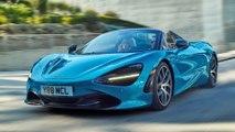 McLaren 720S Spider Luxury - kein offener Sportwagen ist schneller!