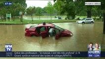 Les images des inondations à Washington D.C. aux États-Unis