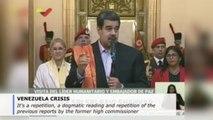 Venezuela's Maduro slams UN human rights report, says it's full of lies