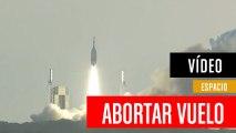 Sonda de la NASA abortando la misión