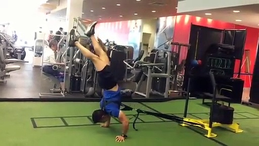 4-Steven Whang-Doing some weights-Wow-Skill-Weights