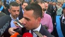 Di Maio - Dichiarazioni alla stampa da Roma alla festa della Polizia Penitenziaria (08 07 19)