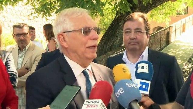 """Borrell: """"Ni Cataluña tiene embajadas ni Exteriores espías"""""""