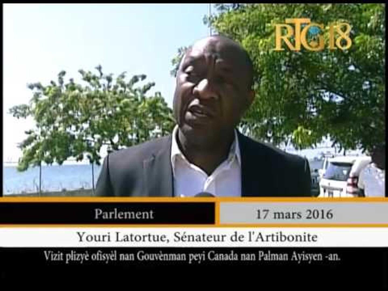 L'Ambassadeur du Canada en Haiti, Paula Caldwell St-Onge a effectué une visite au parlement haï