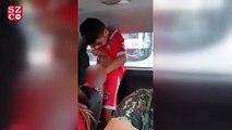 6 yaşındaki çocuk şişeye  işemek isterken annesinin üzerine çiş yaptı