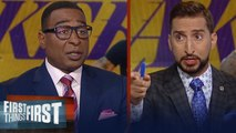 Current Lakers are good enough to win LeBron a championship - Cris Carter _ NBA _ FIRST THINGS FIRST