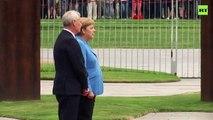 Merkel, kameralar önünde üçüncü kez titreme nöbeti geçirdi