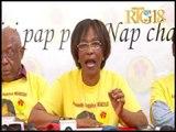 Haïti.- Parti fusion des sociaux-démocrates haïtiens / Conférence de presse