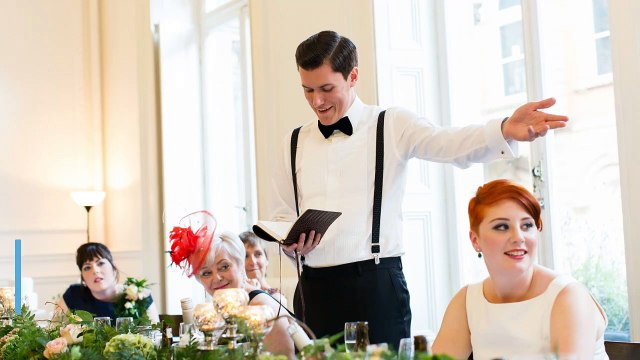A Groom Takes His Revenge In Front of Wedding Guests
