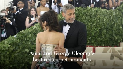 Amal and George Clooney's best red carpet moments