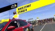 Race Start  - Étape 4 / Stage 4 - Tour de France 2019