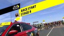 Race Start  - Étape 4 / Stage 4 - Tour de France 2019