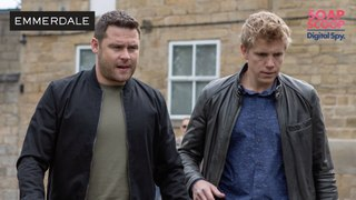 Emmerdale Soap Scoop! Robert wants to trick Lee into revealing his true colours